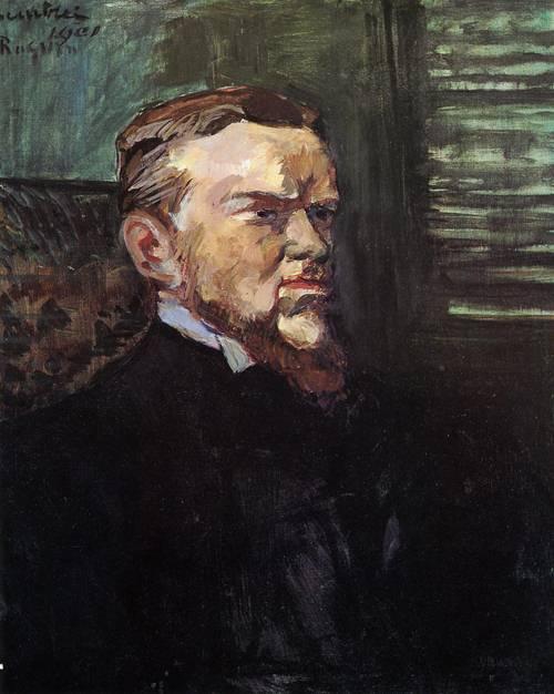 Portrait of Octave Raquin 1901   Henri Toulouse Lautrec   Oil Painting