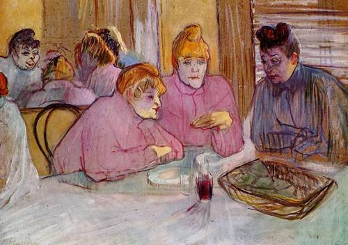Woman in a Brothel 1896 | Henri Toulouse Lautrec | Oil Painting