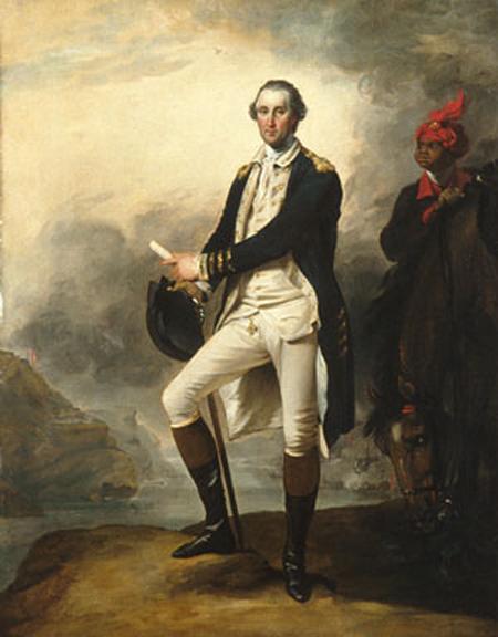 George Washington 1780   John Trumbull   Oil Painting