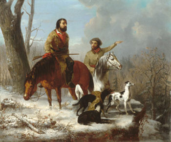 Trappers 1855 | Jonathan K Trego | Oil Painting