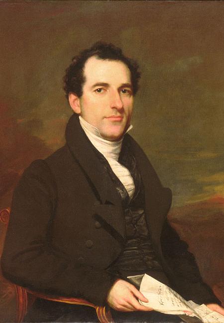 Henry La Tourette de Groot 1825 1830 | Samuel Lovett Waldo | Oil Painting