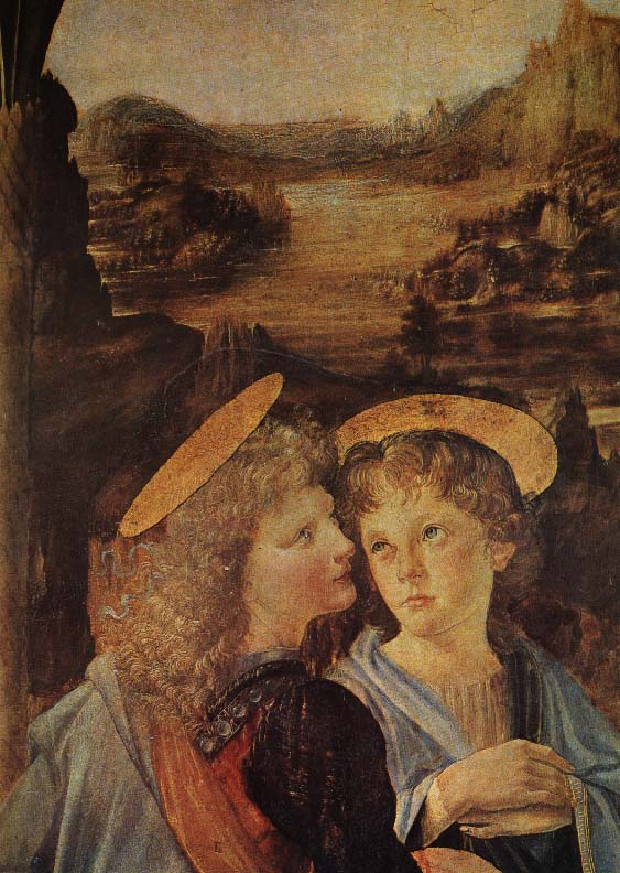 Baptism of Christ | Leonardo Da Vinci | Oil Painting