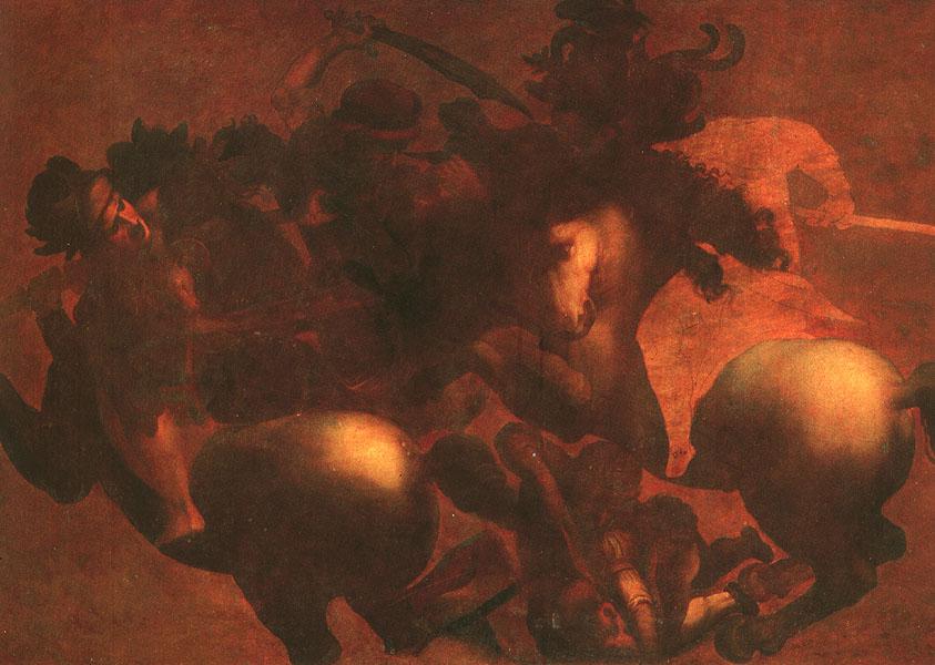 Battle of Anghiari | Leonardo Da Vinci | Oil Painting