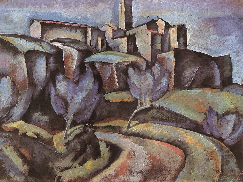 Orvieto 1921 | Farkas Molnar | Oil Painting