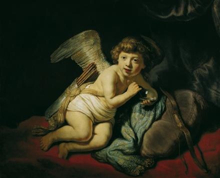 Cupid with the Soap Bubble 1634 | Harmensz van Rijn Rembrandt | Oil Painting