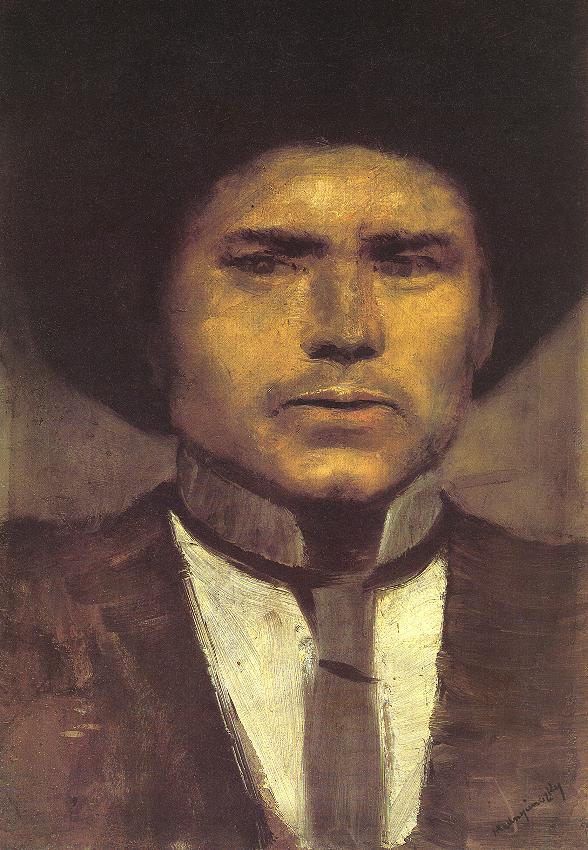 Study of a Head (Nyuli) | Laszio Mednyanszky | Oil Painting
