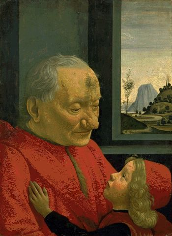 Old Man With A Boy Circa 1488 | Domenico Ghirlandaio | Oil Painting
