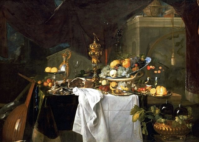 A Dessert 1640 | Jan Davidsz De Heem | Oil Painting