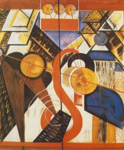Icon Analysis 1922 | Bela Uitz | Oil Painting