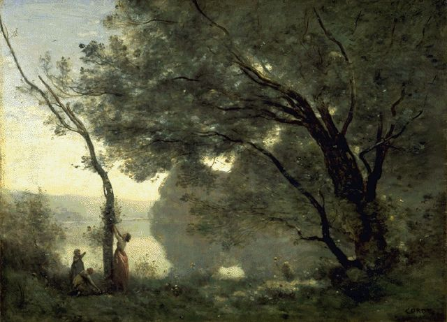 Souvenir Of Mortefontaine 1864 | Jean Baptiste Camille Corot | Oil Painting
