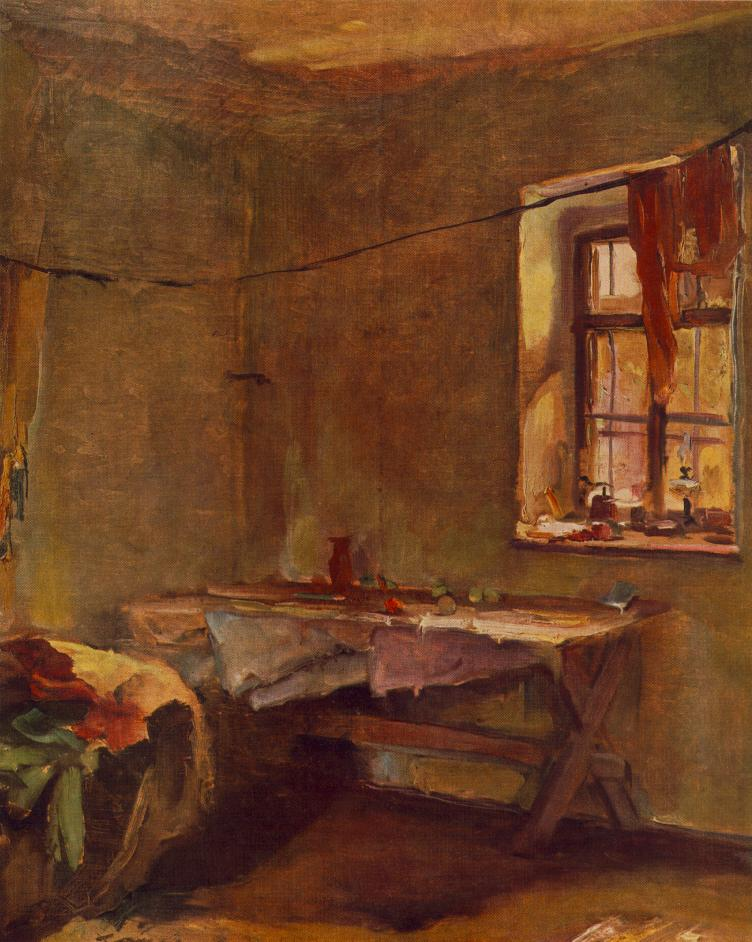 Interior 1934 | Janos Tornyai | Oil Painting