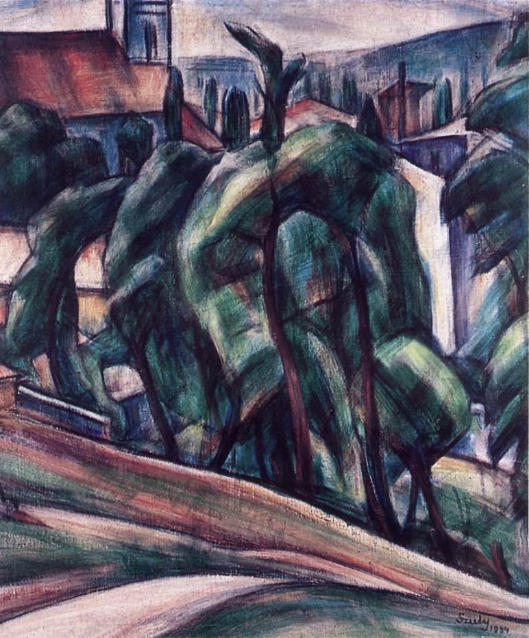 Szentendre 1934 | Angela Szuly | Oil Painting
