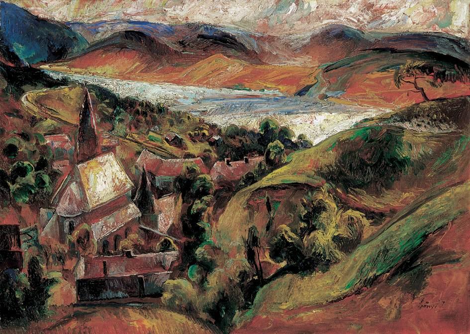 Zebegeny c 1926 | Istvan Szonyi | Oil Painting