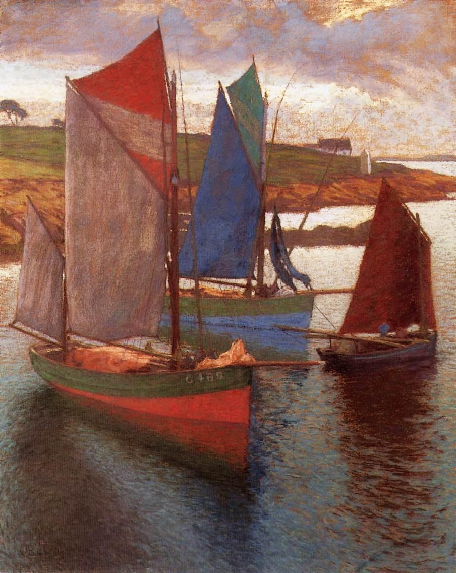 Sailing Boats | Hugo Poll | Oil Painting