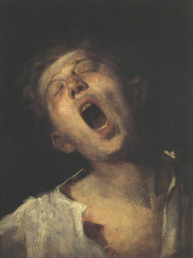 Yawning Apprentice 1868 69 | Mihaly Munkacsy | Oil Painting
