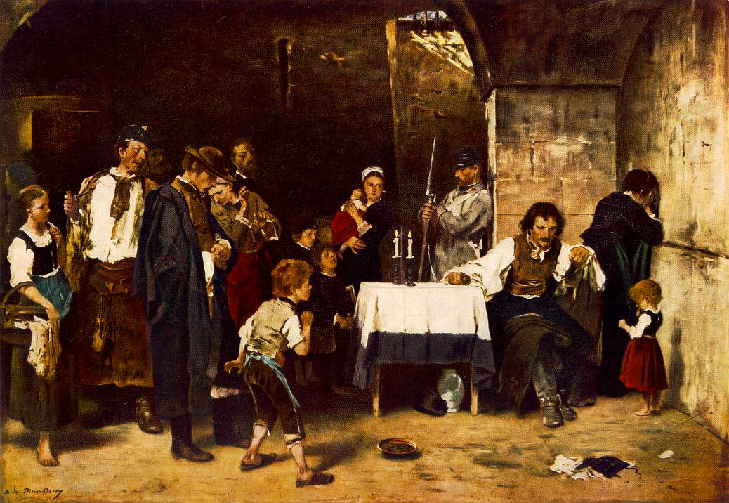 The Condemned Cell II 1880 | Mihaly Munkacsy | Oil Painting