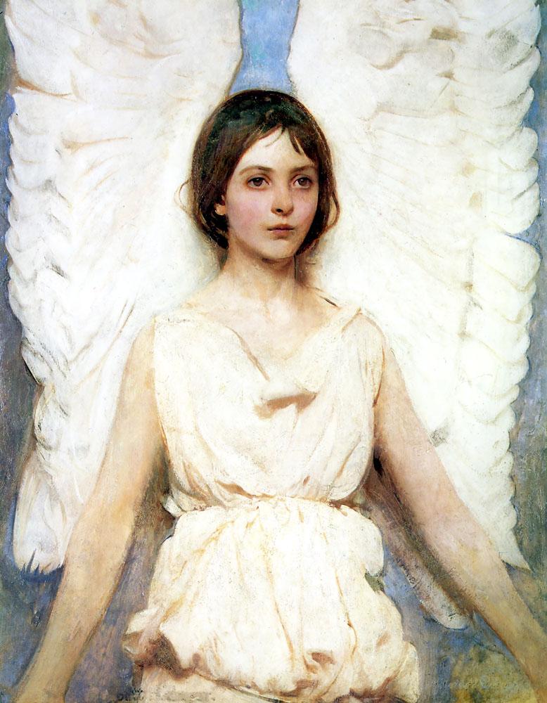 Angel | Abbott Henderson Thayer | Oil Painting
