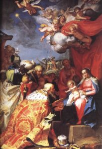 Adoration Of The Magi 1623-24 | Abraham Bloemaert | Oil Painting