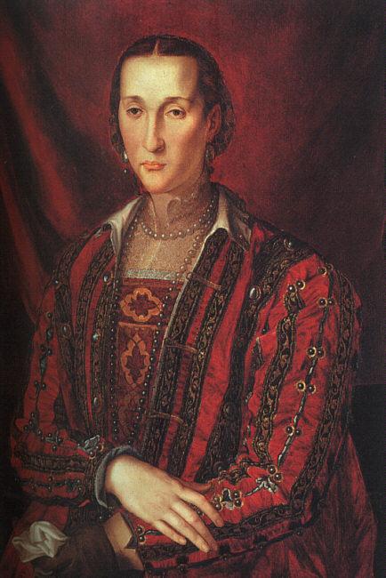 Portrait Of Eleanora Di Toledo 1560   Agnolo Bronzino   Oil Painting