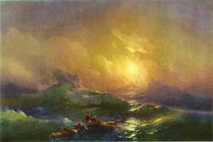 Tenth Wave | Ivan Aivazovsky | Oil Painting