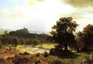 Days Beginning 1854-1856   Albert Bierstadt   Oil Painting