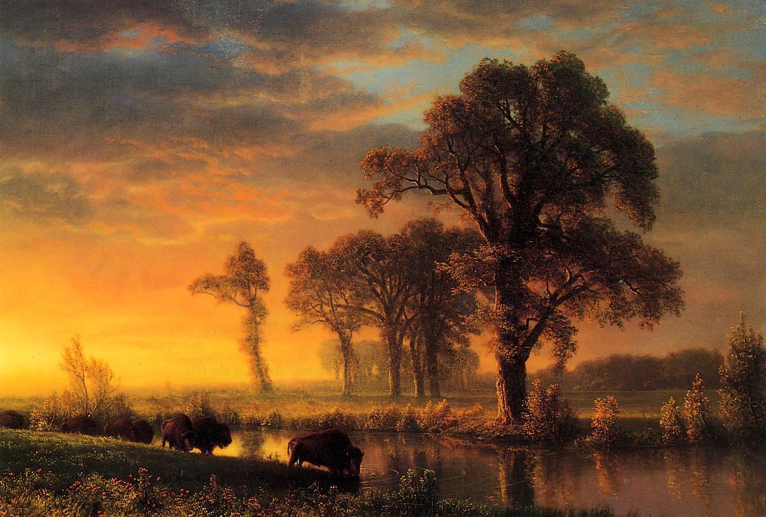 Western Kansas 1875 Painting