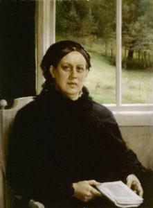 Picture of the Mother of the Artist | Albert Edelfelt | Oil Painting