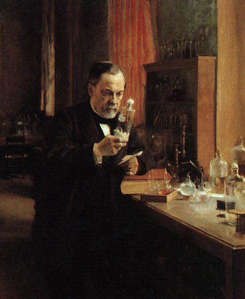 Portrait of Louis Pasteur | Albert Edelfelt | Oil Painting