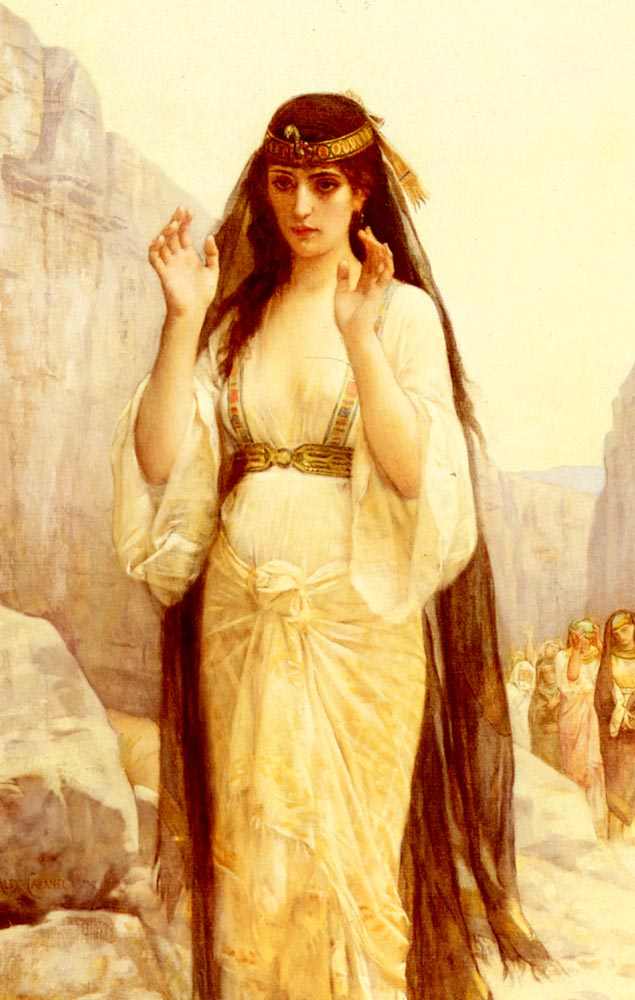 The Daughter Of Jephthah 1879   alexandre cabanel   Oil Painting