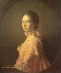 Portrait Of Anne Brown 1763 | Allan Ramsay | Oil Painting