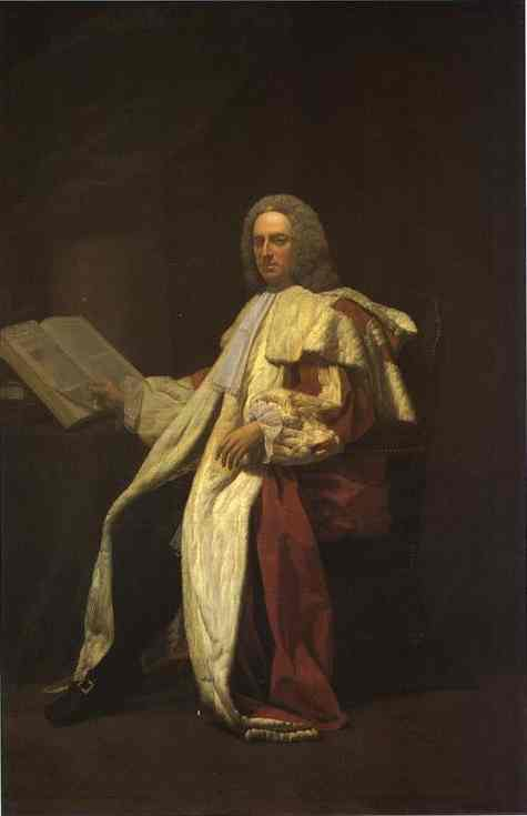 Portrait Of Archibald Campbell 3rd Duke Of Argyll 1749 | Allan Ramsay | Oil Painting