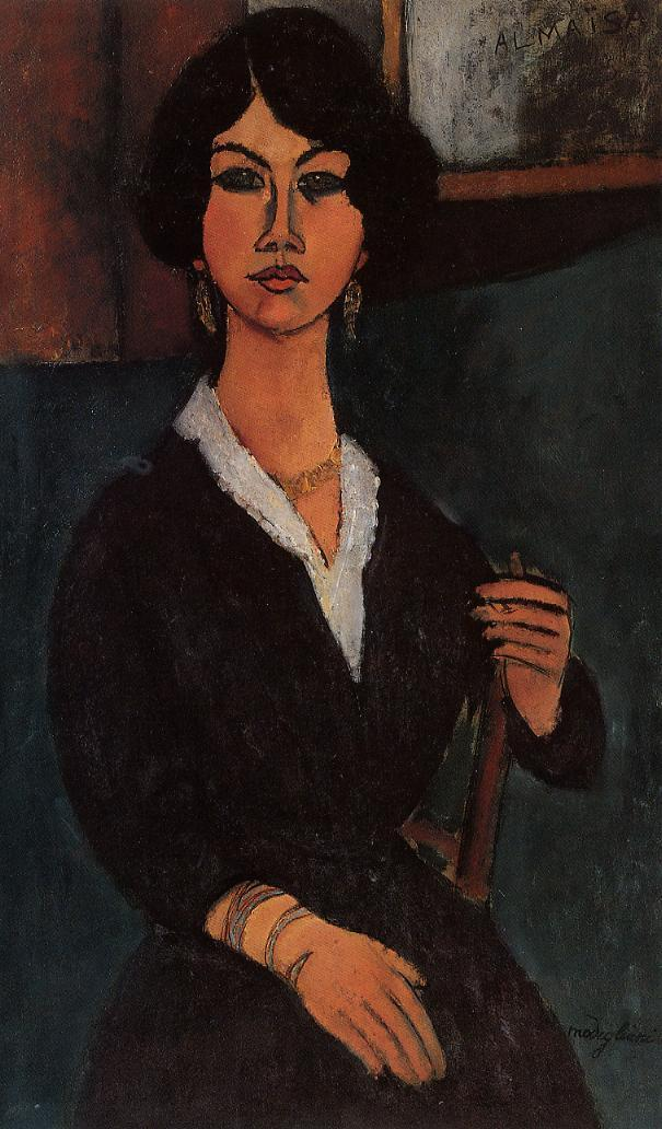 Almaisa 1916 | Amedeo Modigliani | Oil Painting