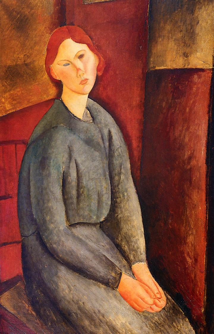 Annie Bjarne 1919 | Amedeo Modigliani | Oil Painting