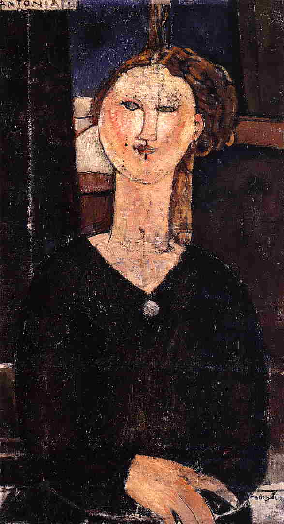 Antonia 1915 2 | Amedeo Modigliani | Oil Painting