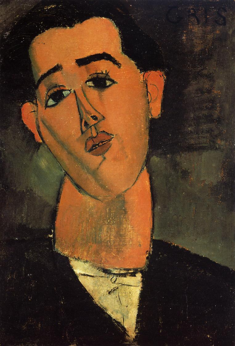 Portrait of Juan Gris 1915 | Amedeo Modigliani | Oil Painting