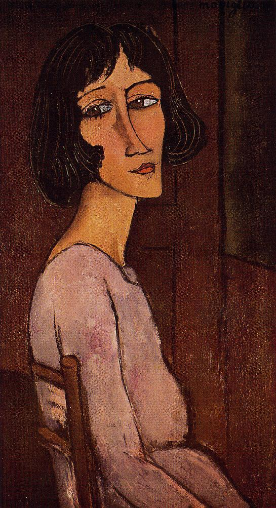 Portrait of Marguerite 1917 1918 | Amedeo Modigliani | Oil Painting