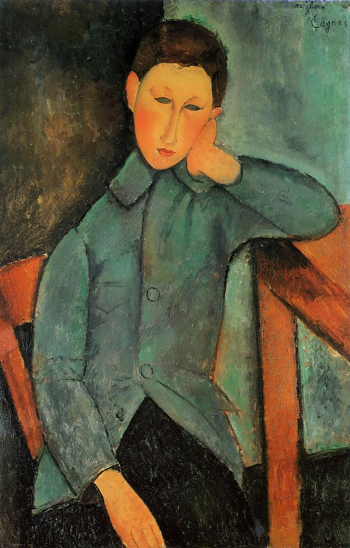 The Boy 1918 | Amedeo Modigliani | Oil Painting