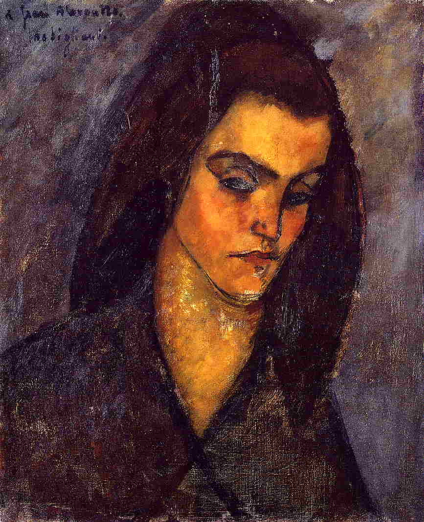 Beggar Woman 1909 | Amedeo Modigliani | Oil Painting