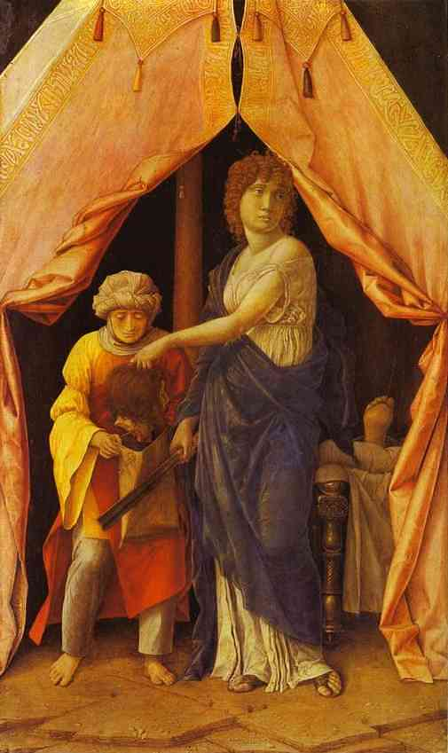 Judith And Holofernes 1495   Andrea Mantegna   Oil Painting