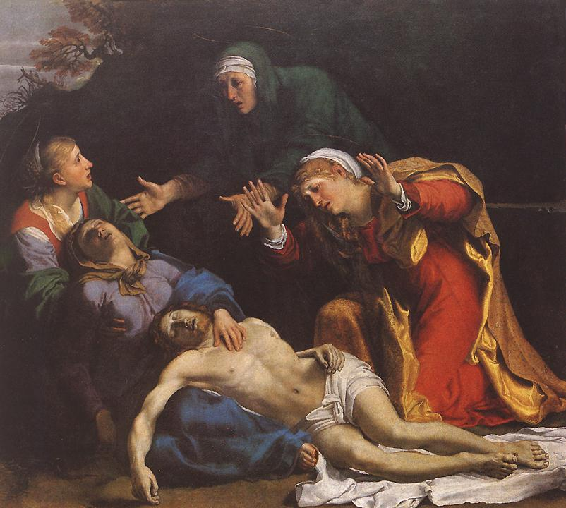 Lamentation Of Christ 1606 | Annibale Carracci | Oil Painting