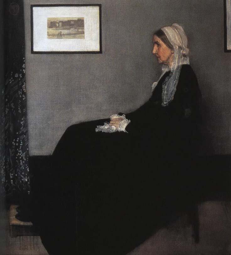 Arrangement in Gray and Black aka Whistler's Mother | James Abbott McNeill Whistler 1871 | Oil Painting