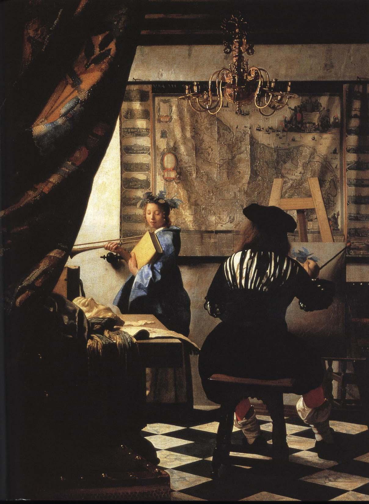 The Art of Painting | Jan Vermeer 1665-1670 | Oil Painting