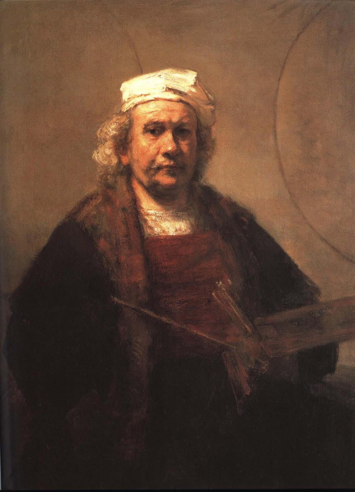 Self Portrait | Rembrandt Van Rijn | Oil Painting