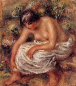 After Bathing 1915 | Pierre Auguste Renoir | Oil Painting