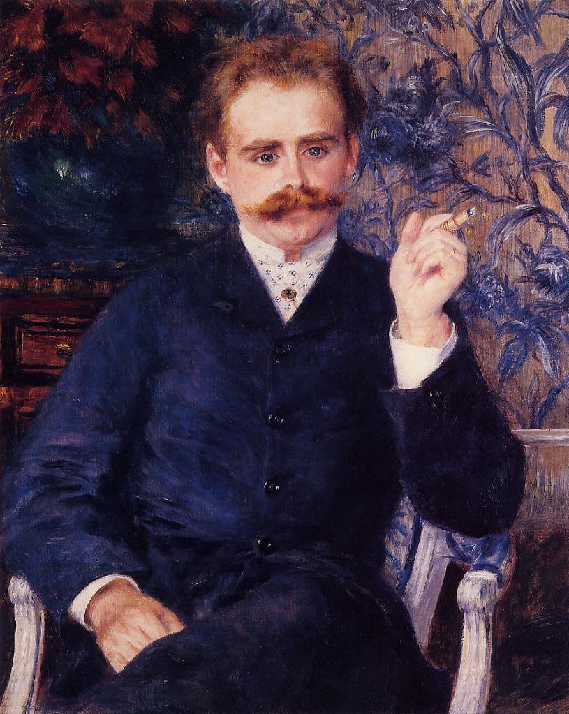 Albert Cahen dAmvers 1881 | Pierre Auguste Renoir | Oil Painting