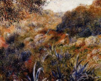 Algerian Landscape (aka The Ravine of the Wild Women) 1881 | Pierre Auguste Renoir | Oil Painting