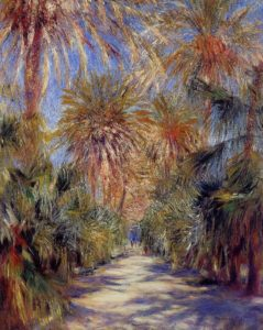 Algiers the Garden of Essai 1881 | Pierre Auguste Renoir | Oil Painting