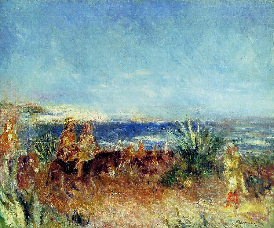 Arabs by the Sea   Pierre Auguste Renoir   Oil Painting