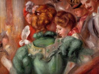 A Box in the Theater des Varietes 1898 | Pierre Auguste Renoir | Oil Painting