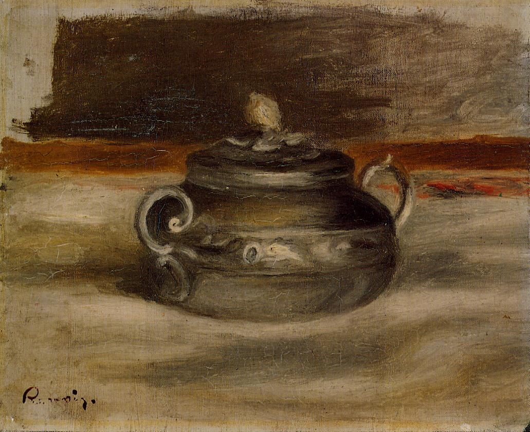 Sugar Bowl 1908-1909 | Pierre Auguste Renoir | Oil Painting